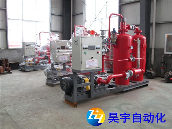 蒸汽回收机设备的使用方法