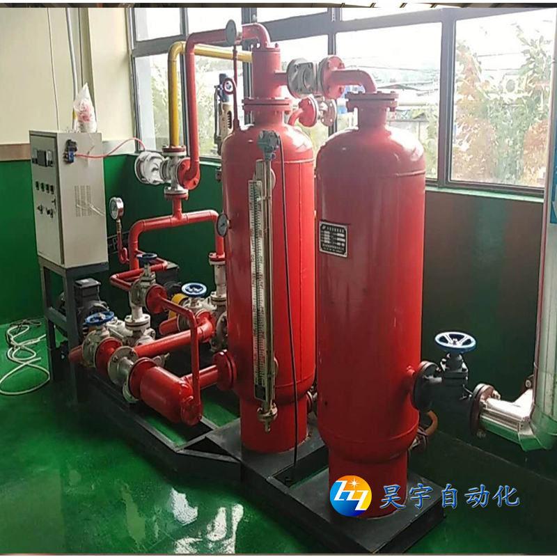 锅炉厂双罐双泵蒸汽回收机